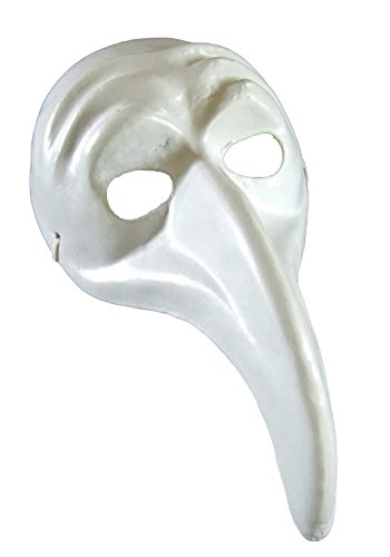 [Blank Unpainted Beak Mask Venetian Mask Masquerade Halloween Costume Drama Project] (Drama Mask Costume)