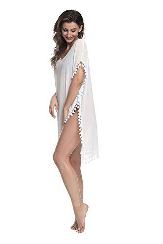 da Allentato Kaftan Kimono Abito Tunica XL da Costumi Beachwear Mare Hippie Etnica Bikini Color Cover Up per Lungo Spiaggia 14 S Bagno Taglia Vestito Estate Boho Stampato per Donna Copricostume Swimsuit axSqwv0w