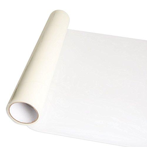 InvisiShield Carpet Protector Film - 24 inch x 200 Foot Adhesive Plastic Floor Protection Film