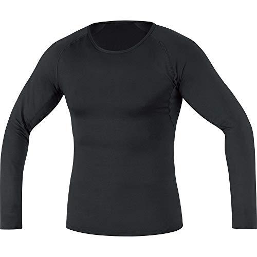 Gore Men's M Bl Thermo Long Sleeve Shirt, Black, -