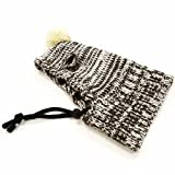 Dogo Sweater Dog Beanie and Neck Hat (XS) Brown
