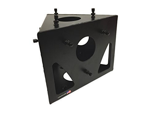 ss Angle Black Metal DJ Lighting PA Trussing Bolted System ()
