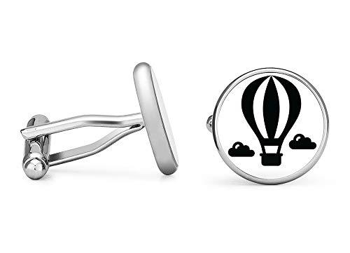 Oakmont Cufflinks Hot Air Balloon Cufflinks (Contoured Edition) ()