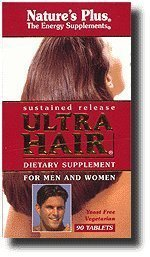 Ultra Hair, 90 Sustained Release (Ultra B-complex 100 Tablets)