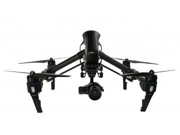 DJI BLACKED OUT Inspire 1 PRO Black Friday Super Deal with 2 64gb San Disk Extreme sd cards, Card Reader, and Drone Source Lanyard