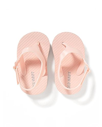ght Pink Flip-Flops for Baby Girls 18-24M Included!! (Old Navy Girls Flip Flop)