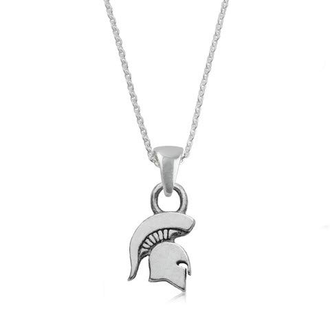 Michigan State University Spartans MSU Sterling Silver Jewelry by Dayna Designs (Pendant - Pendant Sterling Logo Silver Jewelry
