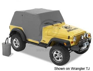 Bestop Trail Cover Jeep - 8