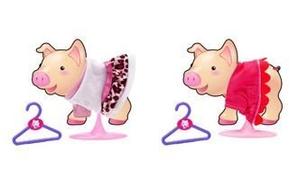 Toy Teck Teacup Piggy Fashion Set 2 Pack Flat River Group 11566