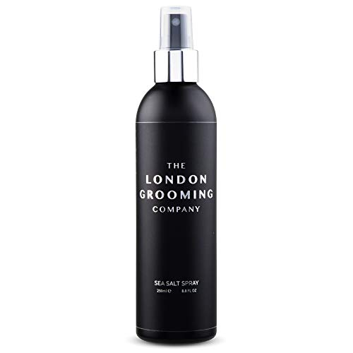 The London Grooming Company Sea Salt Texturizing Spray for Men - Firm Hold and Matte Finish - 8.8 fl...