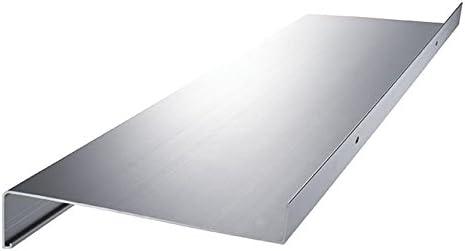 anthrazit dunkelbronze Aluminium Fensterbank Zuschnitt auf Ma/ß Fensterbrett Ausladung 360 mm wei/ß silber