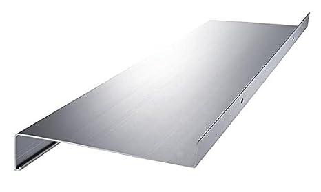 Aluminium Fensterbank Zuschnitt Auf Maß Fensterbrett Ausladung 165 Mm Weiß Silber Dunkelbronze Anthrazit