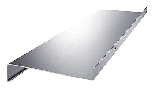 dunkelbronze Aluminium Fensterbank Zuschnitt auf Ma/ß Fensterbrett Ausladung 225 mm wei/ß silber anthrazit