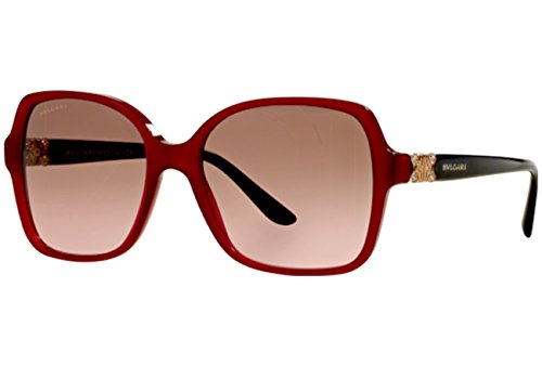 Bvlgari - PARENTESI BV 8164B, Geometric, acetate, women, RED/BROWN VIOLET SHADED(5333/14), 56/17/135