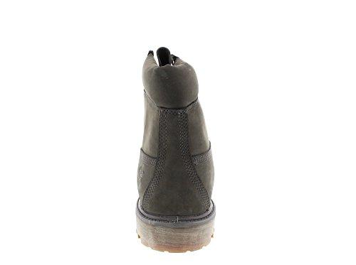 Timberland 6 inch Premium Waterproof, Botas De Cuero Impermeables Hombre Grau (GREY)