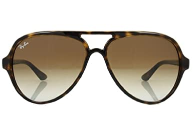 55578df5eb8 Amazon.com  Ray-Ban Cats 5000 RB4125 Sunglasses Light Havana   Crystal  Brown Gradient 59mm   Cleaning Kit Bundle  Shoes