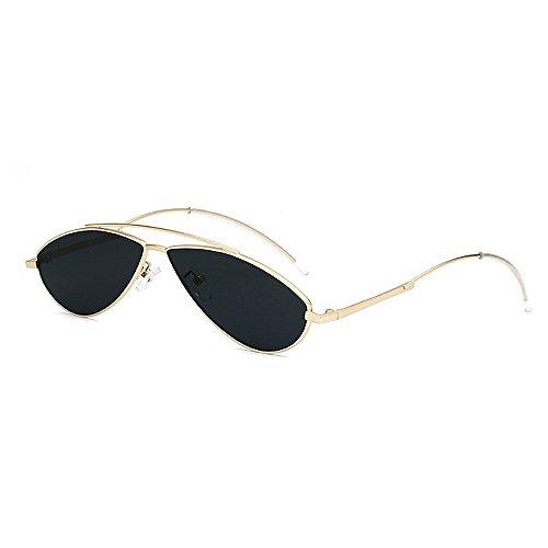 de de de de Gafas Gafas la Hombres Gato PC pequeño Sol y Ultra Unisex de Gimitunus UV Ojos para Oval para Ligero la Mujeres Lente Hombre Negro Sol conducción Gafas protección Retro de Sol de Personalidad wpnnA8PqO
