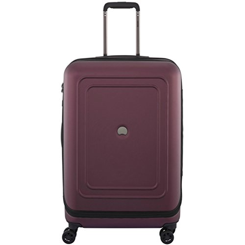 delsey-luggage-cruise-lite-hardside-25-exp-spinner-trolley-black-cherry