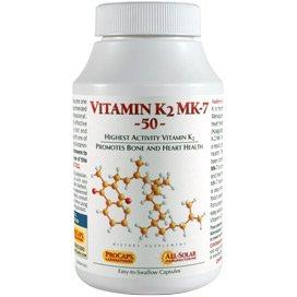 Vitamin K2 MK-7 50 180 Capsules