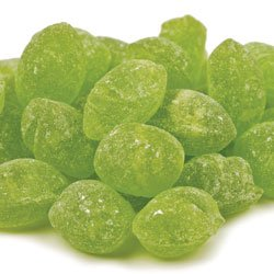 Claeys Sanded Natural Candy Drops - 2 Lbs - Old Fashioned Flavor (Green Apple) by SweetGourmet