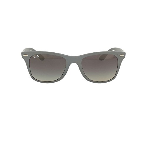 Ray-Ban Men's Nylon Man Square Sunglasses, Matte Grey, 52 - Made Prescription Ready Sunglasses