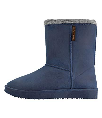 Vanessa Gummistiefel Damen Design im Warmfutter Blau Bockstiegel Boot 5TEgqg