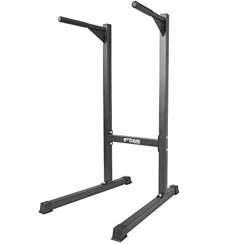 Titan Dipping Station Dip Stand Pull Push Up Bar Fitness Workout Gym 500 lb by Titan Fitness