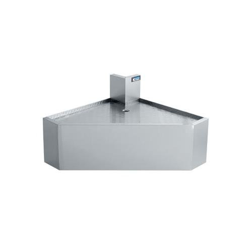 Krowne KR21-DFC90 - Royal 2100 Series 90 Degree Front Angled Corner Drainboard (Corner Drainboard 2100 Series)