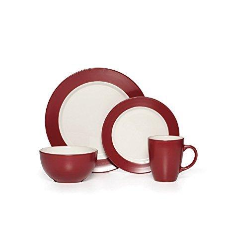 Pfaltzgaff Harmony 16-pieces Dinnerware Set Red by Pfaltzgraff Everyday by Pfaltzgraff Everyday by Pfaltzgraff Everyday