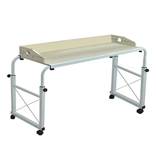 Hisoul Overbed Table with Wheels, 94.5