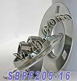 SBPF205-16 Pressed Steel Housing Bearing Unit