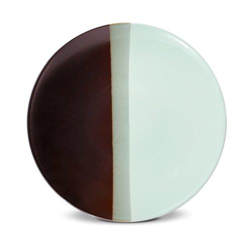 Pfaltzgraff Chocolate Mint Round Serving Platter, 13-Inch