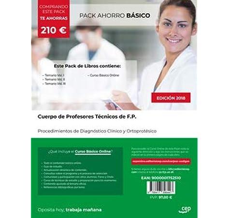 PACK AHORRO BASICO CUERPO PROFESORES TECNICOS DE F P: Amazon.es: AA.VV: Libros