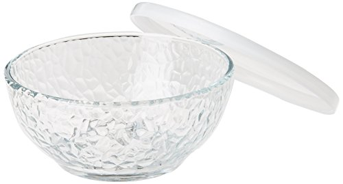 - Libbey Frost 8 Piece Serve and Store Glass Bowl Set