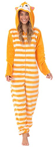 Body Candy Women's Plush Adult Animal Hood Onesie Pajama