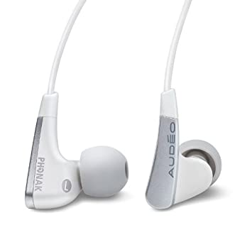 Aud o Perfect Fit Earphones 111 White