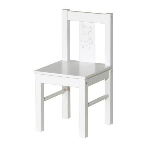 Ikea Kritter - Sedia per bambini, colore: bianco