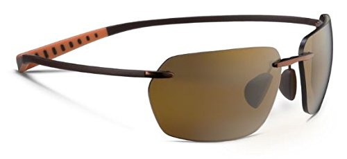 Maui Jim Alaka'I Polarized Sunglasses Metallic Gloss Copper / HCL Bronze One - Maui Sport Titanium Jim