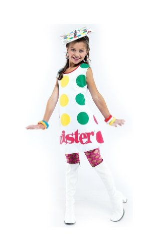 [Twister Costume - Child Costume - Large] (Twister Game Costumes)
