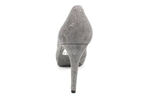Kennel amp; Femme Escarpins 444 89500 Pour Gris Schmenger HUgwH