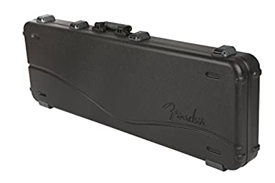 Fender Deluxe Molded Electric Bass Guitar Case (996162306) by 996162306