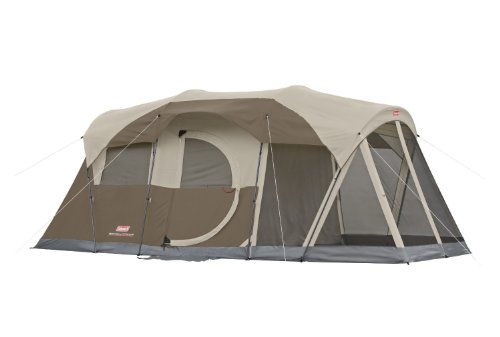 Brand New! Coleman Weathermaster Screened 6 Person Two Room Tent High Quality Fast Shipping Ship Worldwide by Coleman