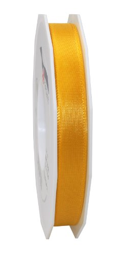 Morex Ribbon Europa Taffeta Ribbon Spool, 5/8-Inch by 55-Yard, Yellow Gold