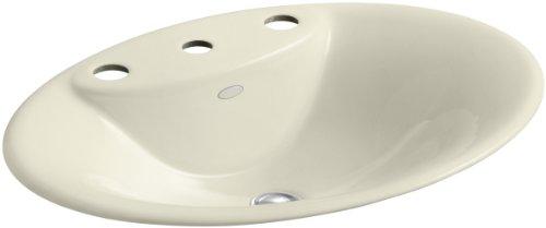 8 Fd Cane Sugar (KOHLER K-2831-8-FD Maratea Self-Rimming Bathroom Sink with 8