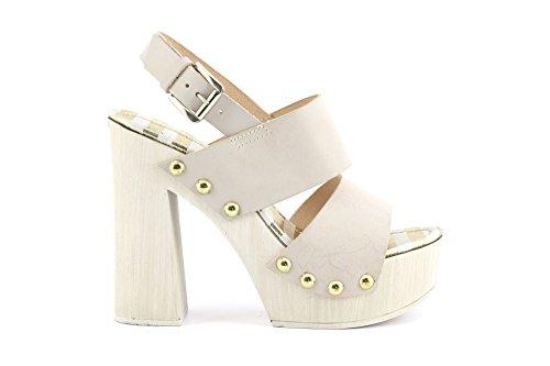 CAFèNOIR - Sandalias de vestir para mujer bianco ghiaccio
