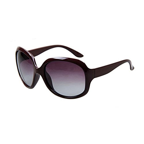 de Protección Protección Grande Borde Date De Solar Anti Color Brown Retro gafas 100 Clásico Sra Decoración Luz 2 UVA Conducción Red Polarizada sol Gafas WYYY UV Uw5nq6zv