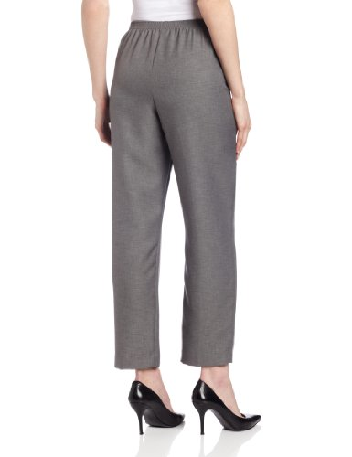 Alfred Dunner Women's Short Pant,Grey,16