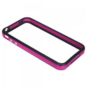 Hard Protection of Frame Case for iPhone 4 Purple & Black