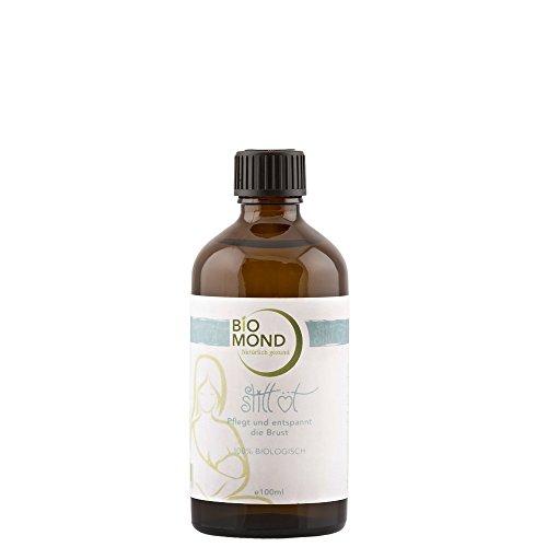 BIO Still-Öl von BIOMOND / 100 ml / Stillöl / ohne Zusatzstoffe / Massageöl für die Brust in der Schwangerschaft / fördert die Milchbildung / von Hebammen empfohlen / 100% biologisch