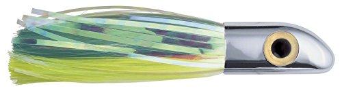 iland Hoo-La Hood Lure, 7-3/8-Inch, Green/Chartreuse